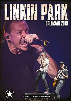 Linkin Park Wall Calendar 2019 - Large A3 - Rock Metal Music Christmas Gift