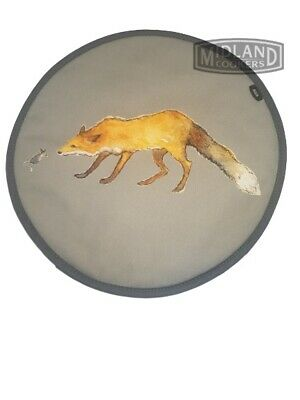 Genuine Fox and Mouse Greeting  AGA Lid Covers / AGA Chefs Pads W3680