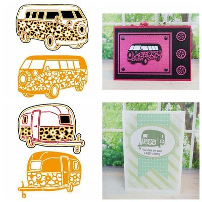 Car Vehicle Metal Cutting Die DIY Handcraft Scrapbook Photo Paper Card Decor New