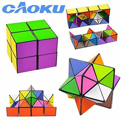 Magic Star Infinite 3D Rubic Cube Game Puzzle Twist Toy Travel Party Kids Gift