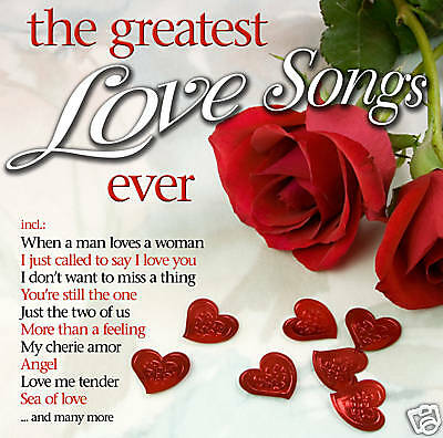 CD The Greatest Love Songs Ever von Various Artists 2CDs