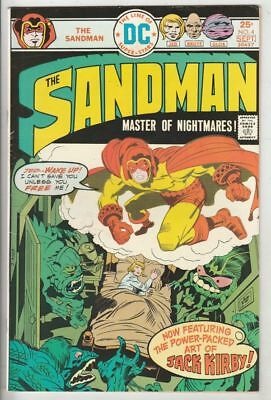"""Sandman, the Jack Kirby # 4 Strict VF/NM 9.0 Artist Jack """"The King"""" Kirby Cover"""