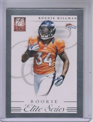 Verzamelingen 2004 Upper Deck Finite HG #123 Brandon Miree Denver Broncos Rookie Football Card
