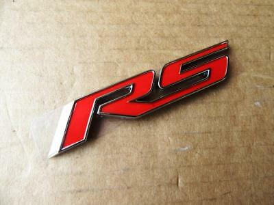 OEM 2010-2018 Chevy Camaro Cruze RS Sign Emblem Decal Nameplate Badge 84005310