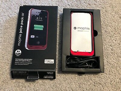 Mophie Juice Pack Air Charging Case for iPhone 4/4s