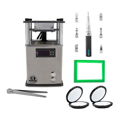 RosinBomb Rocket Electric Rosin Heat Press for Solventless Extraction