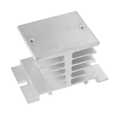Aluminum Heat Sink SSR Dissipation for Single Phase Solid State Relay 10A-40A