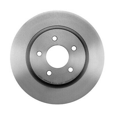 NEW For Ford Mustang Base 4.0L Front Vented Coated Disc Brake Rotor 293mm Brembo