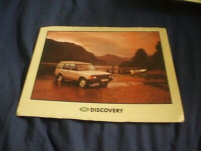 UNDATED LAND ROVER DISCOVERY Car Brochure (UK Market)