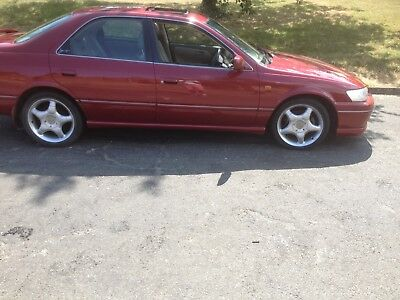 Toyota Camry 2.2 Sport Manual Transmission Maroon 1998 Low Mileage