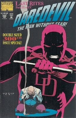 Fl- Daredevil N.300 The Man Without Fear -- Marvel Comics Usa - 1992 - S - Nqx