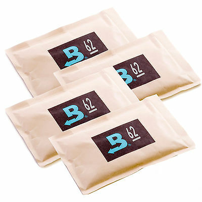 4 Boveda 62% 60 gram Humipacks Factory Fresh Canadian Buyers only!