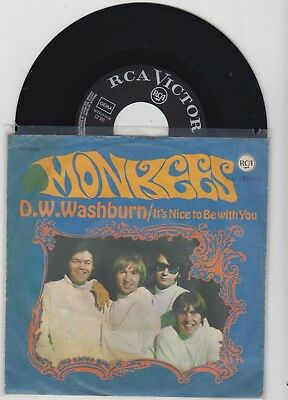 """"""" The Monkees """"---It""""s nice to be with you--   -TOP -"""