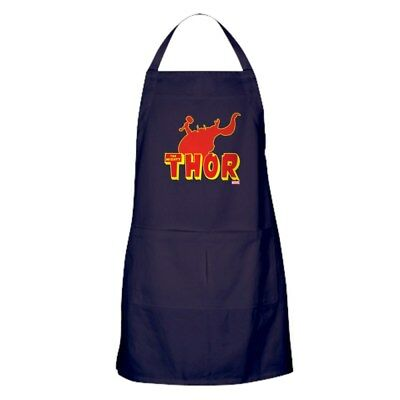 CafePress Thor Red Silhouette Kitchen Apron (1333086499)