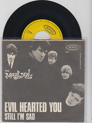 """"""" The Yardbirds """"---Evil Hearted you---   -TOP -"""