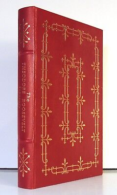 The Theodore Roosevelt Treasury Easton Press Publishing 1988 Ships Quickly