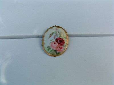 Old Antique Vintage Art Nouveau Brooch Pin Late 1800'S Early 1900'S