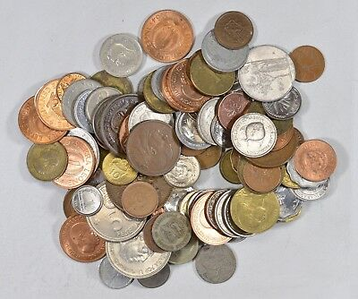 Roughly a POUND of Mixed World Coins - Great Mix *194