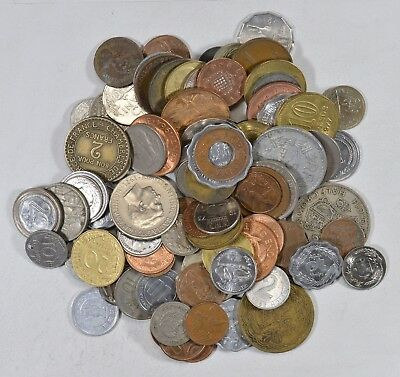 Roughly a POUND of Mixed World Coins - Great Mix *193