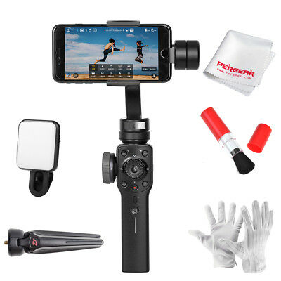 AU Zhiyun Smooth 4 3-Axis Handheld Gimbal Stabilizer for Smartphone+Selfie Light