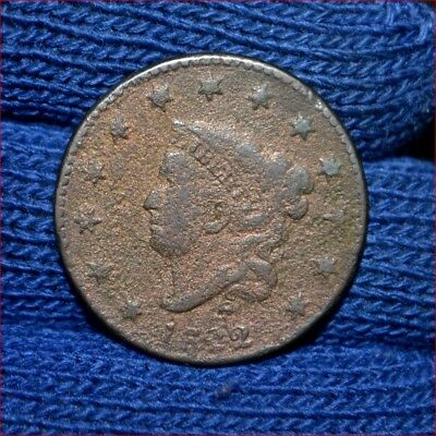 1822 LARGE CENT**VERY GOOD details**Bargain Price !