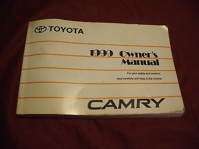 1999 TOYOTA CAMRY Owner's Manual