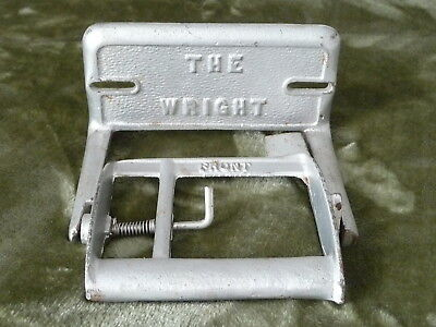 """Antique Cast Iron Bathroom Water Closet Spring Toilet Paper Holder """"the Wright"""""""