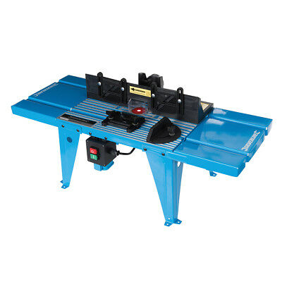 Genuine Silverline DIY Router Table with Protractor 850 x 335mm 460793