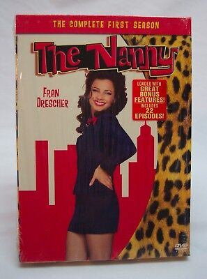 THE NANNY The Complete First Season DVD 3-Disc Set 2005