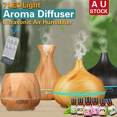 Essential Oil LED Ultrasonic Aroma Aromatherapy Diffuser Air Humidifier Purifier