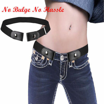Buckle-free Elastic Unisex  Invisible Belt for Jeans No Bulge Hassle