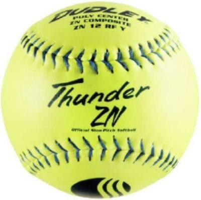 "Dudley 12"" USSSA Thunder ZN Composite Stadium Softball .47/450 4U-528Y Dozen"