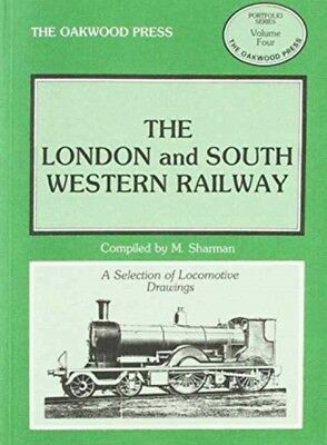London and South Western Railway: Locomotive Drawings in 7mm Scal...