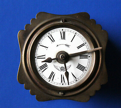 Old Kienzle Watch,Travel Clock 19.jahrhundert Century Pendulum Clockwork Drive