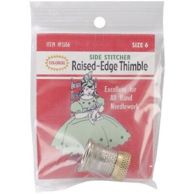 Colonial Raised-edge Thimble-size 6