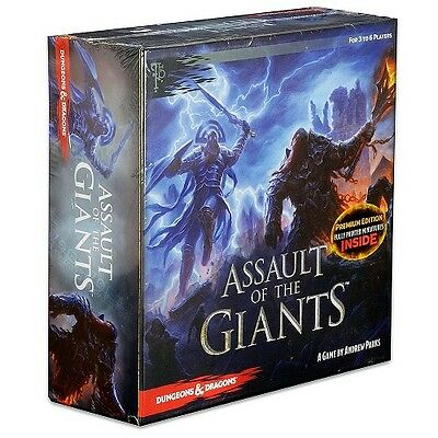 Assault of Giants Dungeons & Dragons Premium Edition Board Game - New