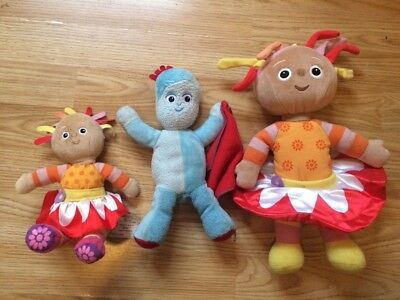In The Night Garden Talking Iggle Piggle 2 Upsy Daisy Soft Toys
