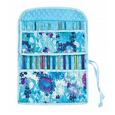Mary Maxim Quilted Combination Needle Case-watercolor