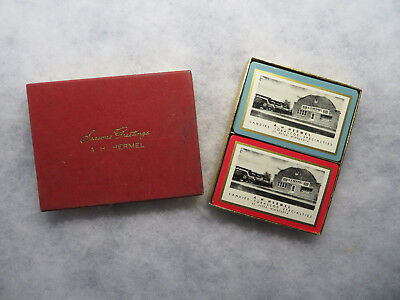 A.H Hermal Wholesale Candy Tobacco Truck Store St. Peter Minnesota Playing Cards