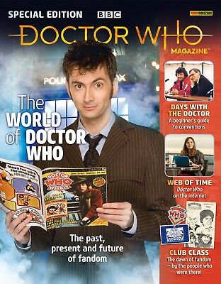 Doctor Who Magazine - The World Of Doctor Who Special Edition...new