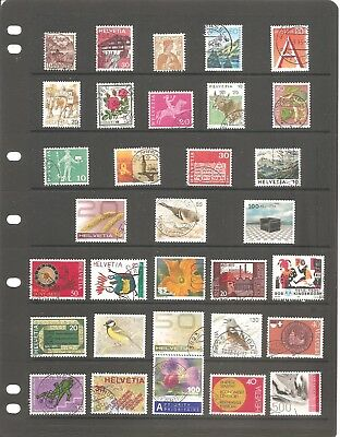 Switzerland  Sheet Of 32   Very Good  Top Quality Fine  Used  Stamps   (B)