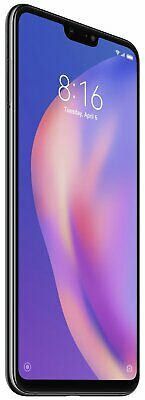 Sim Free Xiaomi Mi 8 Lite 6.26 Inch 4GB 24MP 4G Mobile Phone - Black.