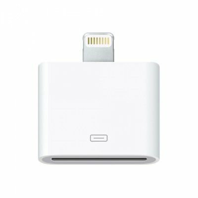 Genuine Apple Lightning to 30-pin Adapter MD823ZM/A iPhone iPad iPod Charger~
