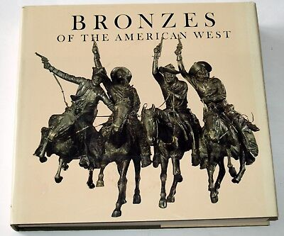 Bronzes of the American West by Patricia Broder - giant illustrated hardcover