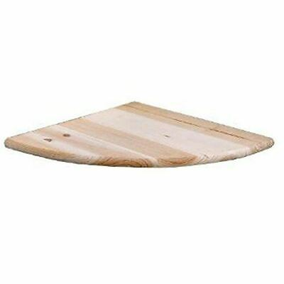 Natural Wood Corner Shelf Kit Pine 200mm Pine Shelf  CS108