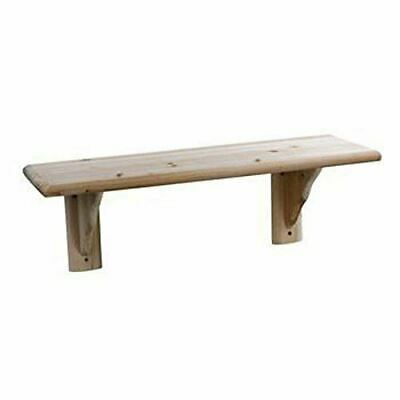 Natural Wood Shelf Kit Pine 580mm x 190mm x 16mm Pine Bookshelf TS102