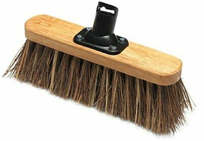 Addis 265 mm 10in Stiff Garden Yard Outdoor Brush Broom Head Bassine/Cane Fill