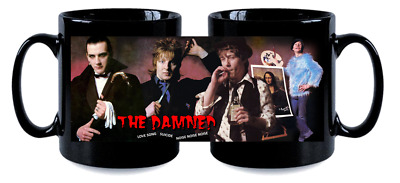 THE DAMNED love song MUG, limited edition RARE BRAND NEW- BOXED