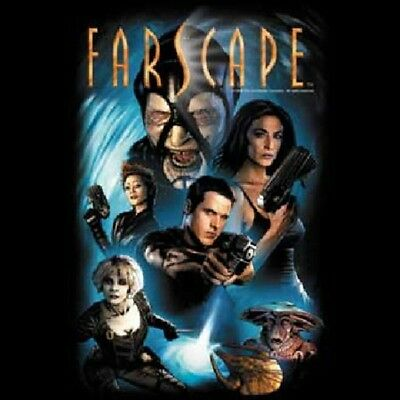 Farscape TV Series Comic #1 Cover Cast Adult T-Shirt Size 3XL (XXXL) UNWORN