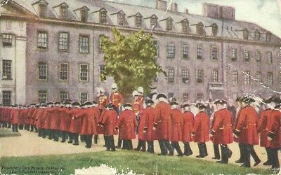 Founders Day Parade 1911, Earl Roberts, Chelsea Pensioners, London + Cancel